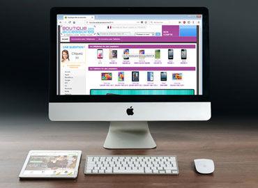 Site E-Commerce Boutique Des Accessoires