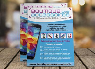 Flyer Boutique Des Accessoires