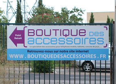Signalétique Boutique Des Accessoires