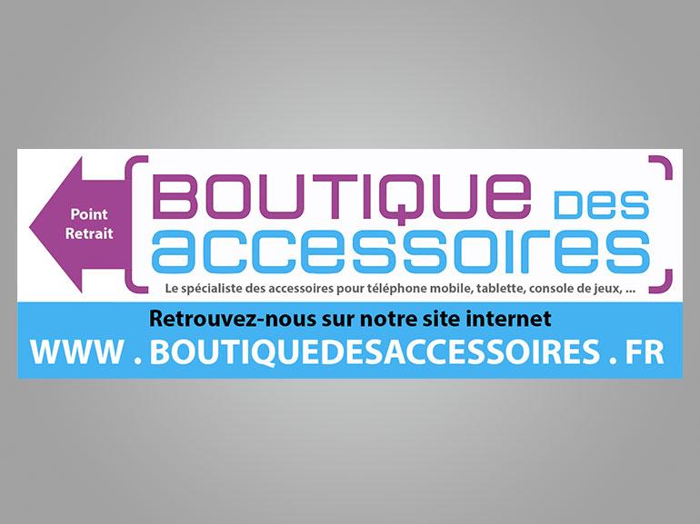 Signalétique boutique des accessoires ecommerce Montpellier 1