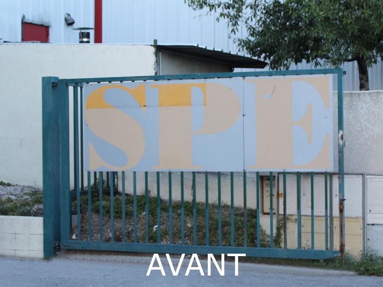 Signalétique boutique des accessoires ecommerce Montpellier 2