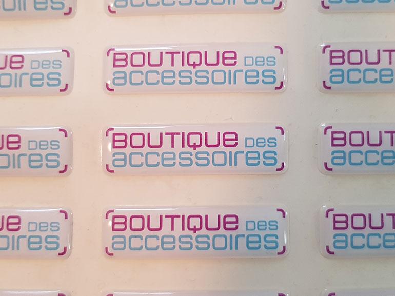 Stickers boutique des accessoires ecommerce Montpellier 2