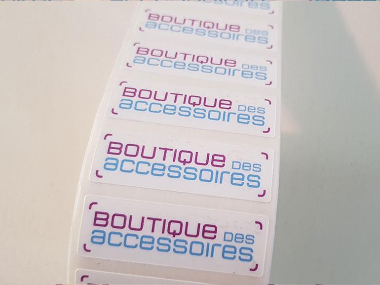 Stickers boutique des accessoires ecommerce Montpellier 3