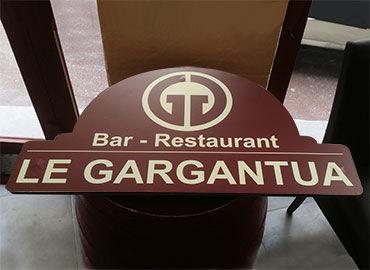 Enseignes Le Gargantua
