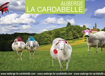 Bâche décorative Auberge La Cardabelle