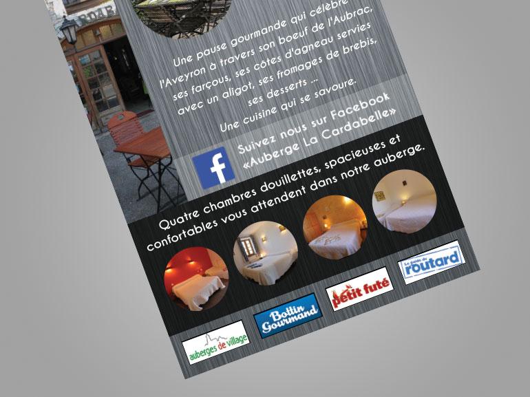 flyer restaurant la cardabelle larzac 4