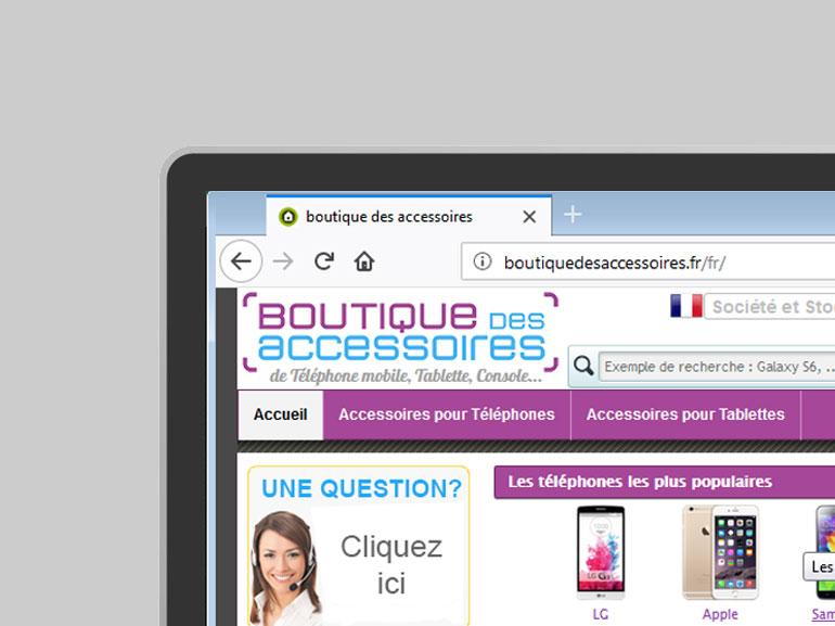 logo et charte boutique des accessoires ecommerce Montpellier 3