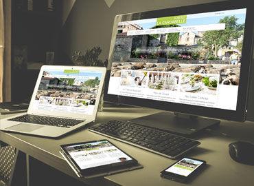 Site internet Auberge La Cardabelle