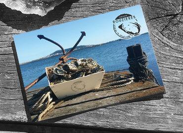 Carte postale Huîtres Rouzières