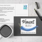ouverture du site Piment Bleu Agence de communication