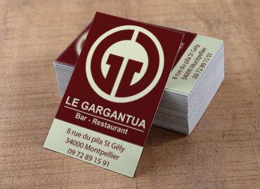 Cartes de visite Le Gargantua